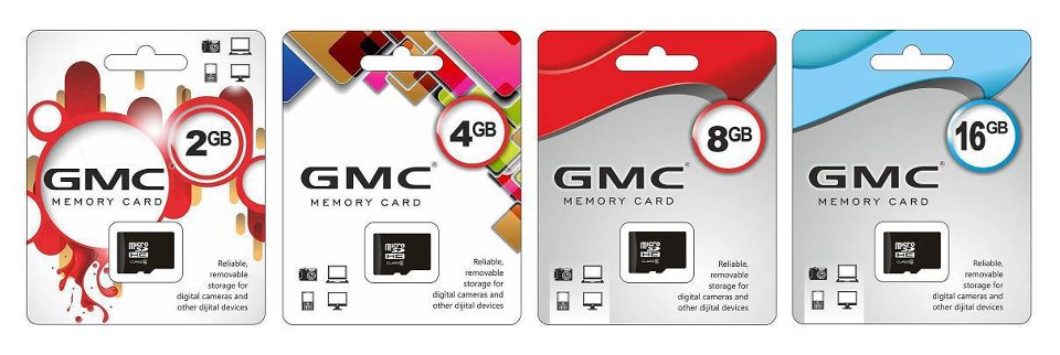 GMC Memory Card